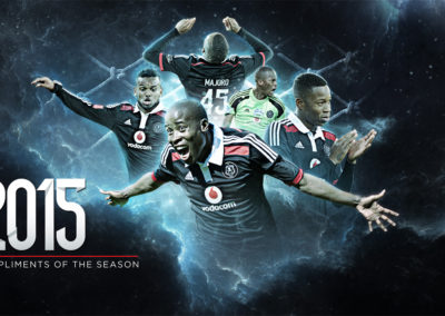 Orlando Pirates - 2015 Season Brand Work 2