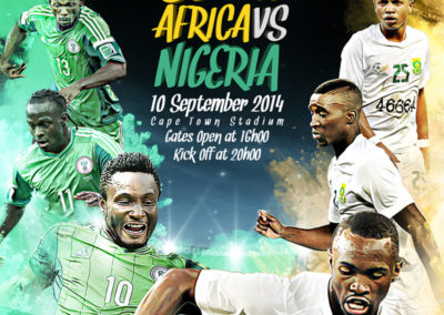 SAFA - Bafana Bafana International Match Creative 1