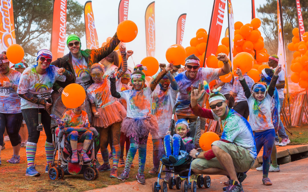 Super C sponsorship energises The Color Run