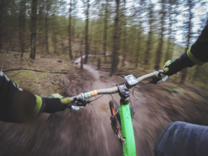 South Africa's world first live broadcast of immersive video from a mountain biker.
