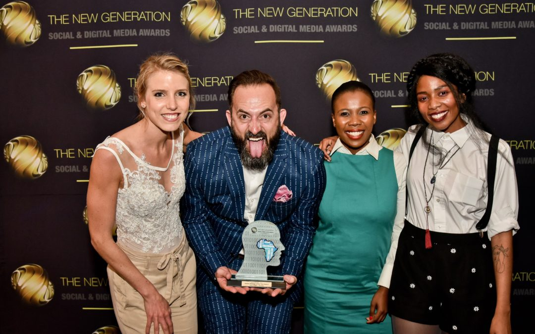 The Solutions Lab retains Gold for its Online Strategy at New Gen Awards